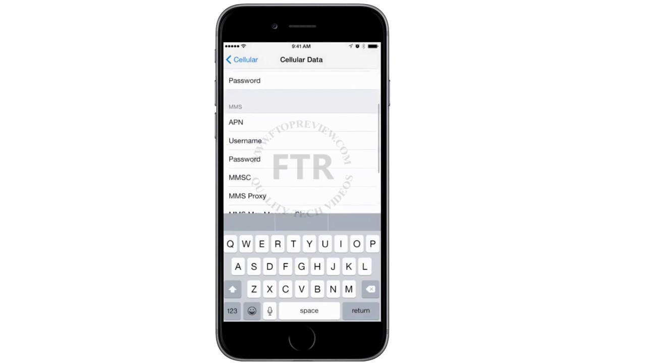 Iphone 3g proxy settings