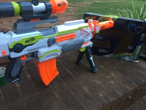 Complete Nerf Modulus Long Range Upgrade Kit Review and Unboxing