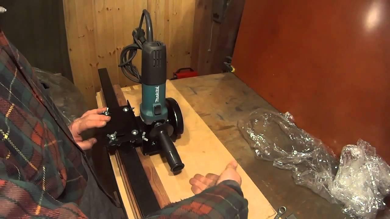 Фрезерный станок по металлу своими руками из болгарки своими руками