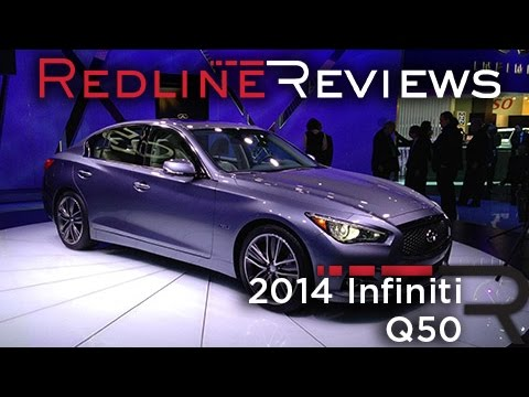 Meet the all-new 2014 Infiniti Q50, the replacement for the second
