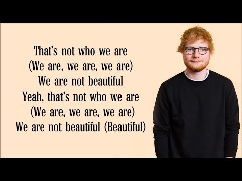 Download Ed Sheeran  Beautiful People Lyrics FT Khalid
