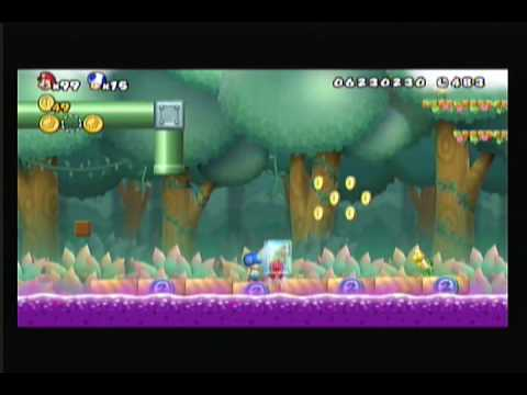 New Super Mario Bros. Wii Walkthrough - Coins of the Shallows and the Sky and the Ghost House (59)