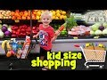 Kid Size Shopping with Real Money! -