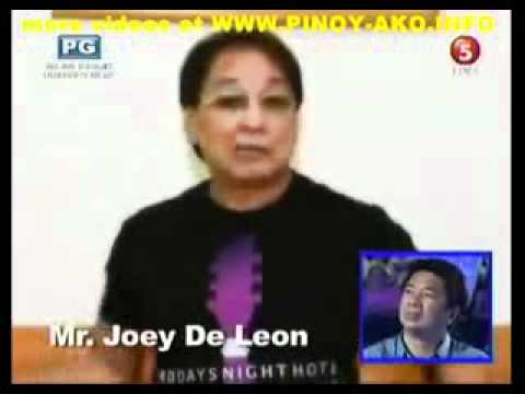 Joey De Leon Nakigpag-plastikan Kay Willie Revillame Sa Wil Time Bigtime! (2012) video