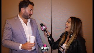 "EDDIE HEARN GIVES MJP DATING TIPS; TYSON FURY BLOCKING HIM ON TWITTER & ""TAKING MICKEY"" OUT OF RUIZ"