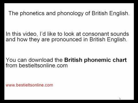 Tips for a higher Band Score - pronunciation 3 (British English) for the IELTS Speaking Test .