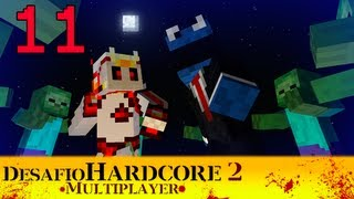 Minecraft - Reto Hardcore 2 - Combinado Multiplayer - Episodio 11 - contra Chincheto
