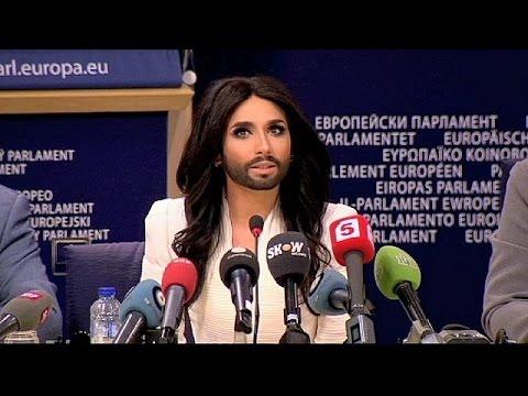 Conchita Wurst a Bruxelles, un concerto contro tutte le discrinazioni