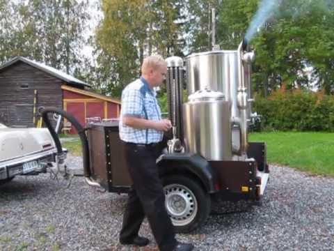 Ekomobiili wood gas-generator