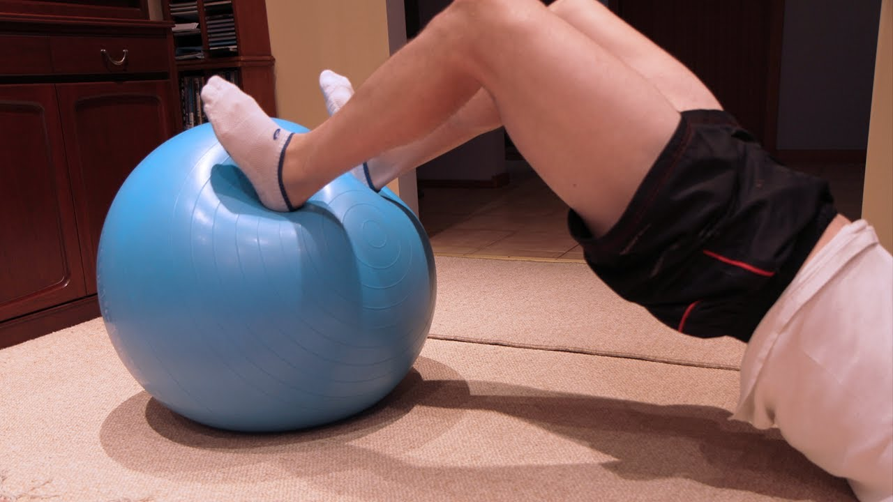 Hamstring Exercise Without Weights Exercise no Weights