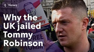 Tommy Robinson is in prison and this is why
