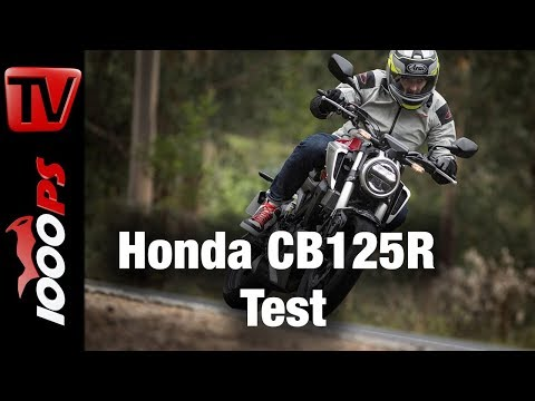 1000PS Test - Honda CB125R 2018 - Retro richtig gemacht