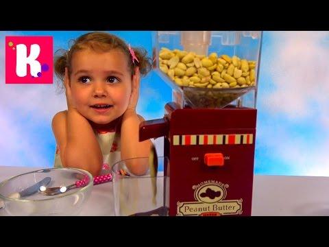 Арахисовая паста мейкер /Делаем сладкое масло из орехов