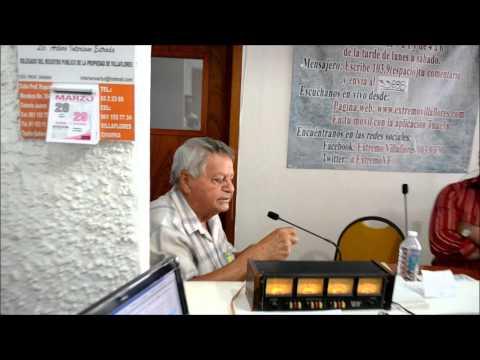 GERMAN JIMENEZ HABLA SOBRE EL ASUNTO DEL AGUA EN VILLAFLORES