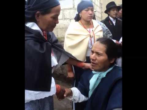 MATRIMONIO DE ANITA Y ROLANDO (CHUCHUQUI ESPEJO)(OTAVALO ECUADOR)