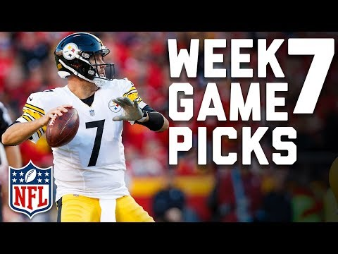 Week 7 Game Picks in Under 3 Minutes вр   NFL