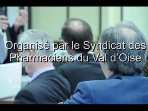 Conference en partenariat avec le syndicat des Pharmaciens du Val d'Oise
