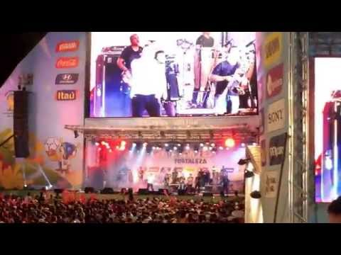 Dom Dom Dom - Aviões do Forró na Fifa Fan Fest Fortaleza 2014