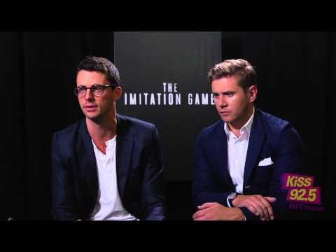 Matthew Goode & Allen Leech Talk 'The Imitation Game' at TIFF 2014 | KiSS 92.5