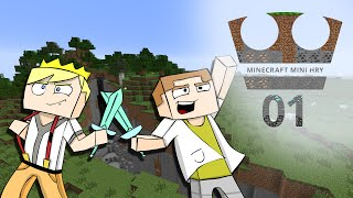 Jirka a GEJMR Hraje - Minecraft Mini hry 01 - Kradení oveček