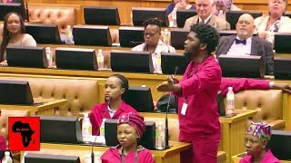 EFF Do NOT Celebrate Springboks In Parliament
