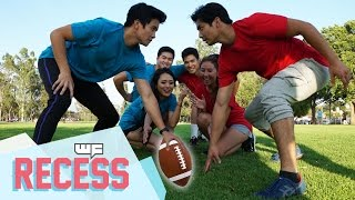 FLAG FOOTBALL ft. The Sudarso Brothers - WF Recess!