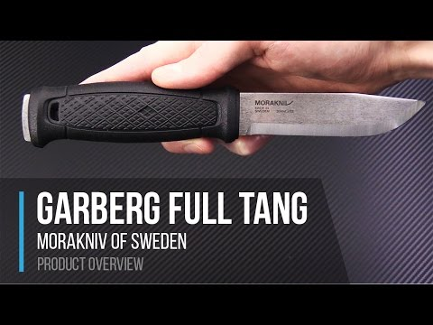 Mora of Sweden Garberg Full Tang 14c28n Knife Overview