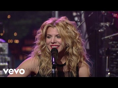 The Band Perry - If I Die Young (Live On Letterman)