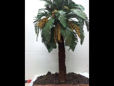 COMO HACER UNA PALMERA PRIMERA PARTE - HOW TO MAKE A PALM TREE FOR BEL ÉN