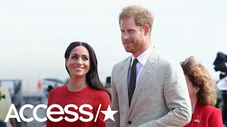 Meghan Markle & Prince Harry Share A Thank You Note Following Royal Tour Down Under | Access