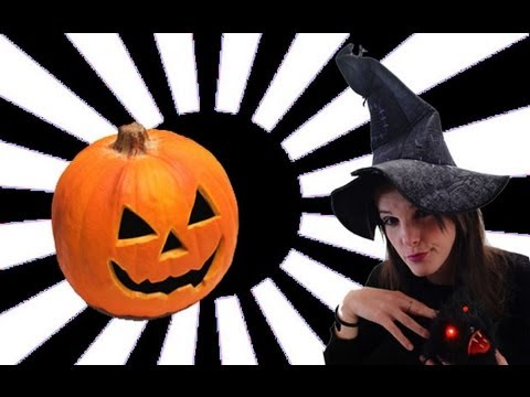 Cmo hacer una calabaza de #Halloween geek pumpkin Brico #Videorama