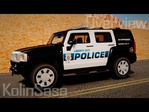 Hummer H3X 2007 LC Police Edition ELS