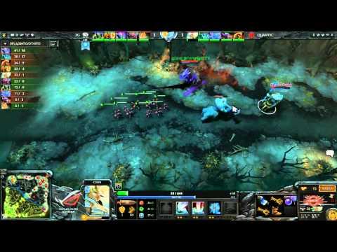 DreamHack Summer 2013 - 1/2 - Quantic vs EG, game 1