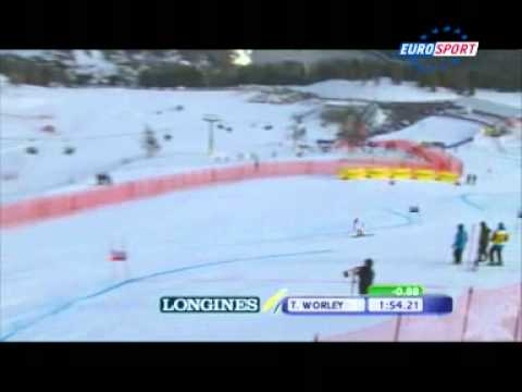 Saint Moritz - Tessa Worley 2nd run