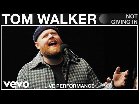Tom Walker - Not Giving In - Live Performance | Vevo