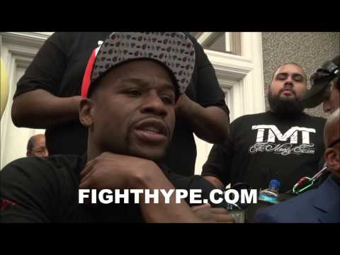 FLOYD MAYWEATHER TALKS ABOUT HOW THE SPORT OF BOXING HAS CHANGED THE SPORT ITS CHANGED TOTALLY