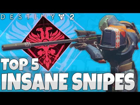 Destiny 2 Beta: Insane Sniping Plays - Top 5 Sniping Clips Of The Week / Episode 11