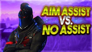 Aim Assist Vs. No Assist | Which is Better? - Fortnite