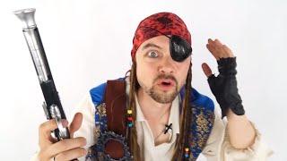 Играем в пиратов и ищем сокровища с пиратом Егором - Поиграйка с Егором