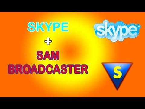 Tutorial -  Sacar llamadas de Skype por SAM broadcaster