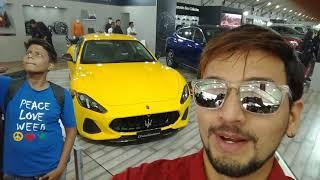 AutoCar Show Mumbai 2018 BKC | India | Vicky Media | Marathi Vlog