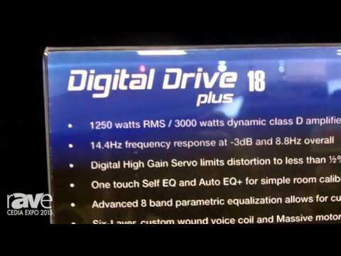 CEDIA 2015: Velodyne Introduces Digital Drive 18″ Subwoofer