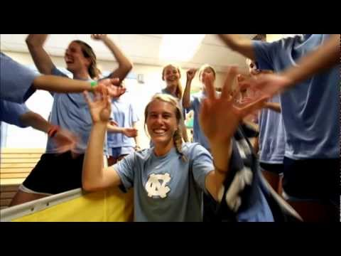 UNC Athletics Jump Around 2012