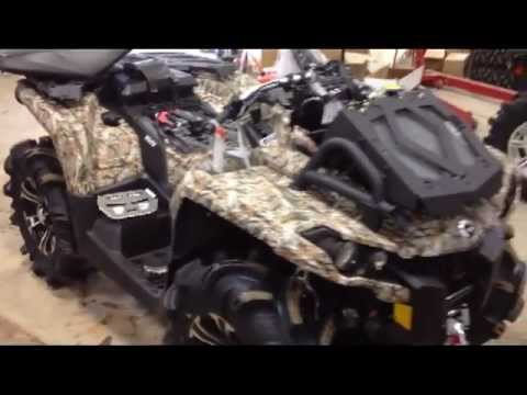 2013 Canam 1000 XMR Camo Fresh Out of Crate at PPSM