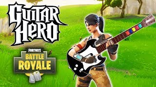 USING GUITAR HERO to play FORTNITE! Fortnite WTF Moments & Fails #86 (Battle Royale Highlights)