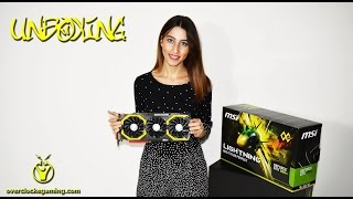 Unboxing msi 980ti lightning