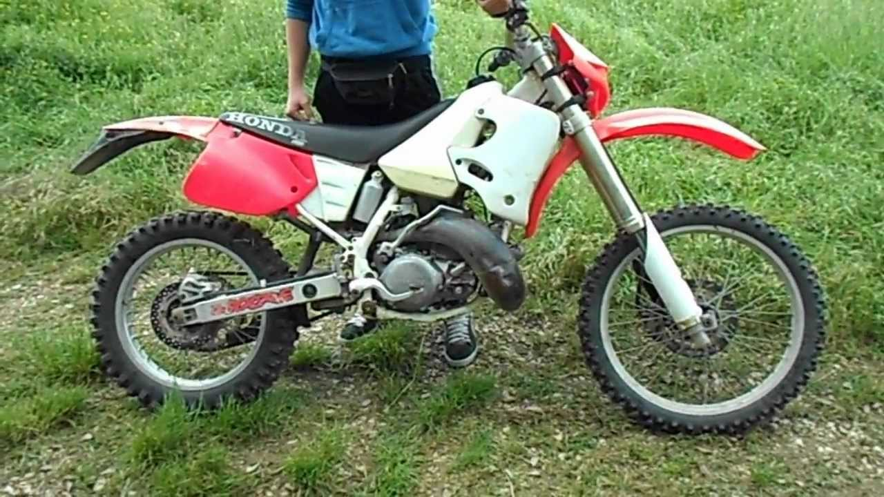 Honda CR 250 2 Stroke Sound DEP PIPE [ Part 1 ] - YouTube
