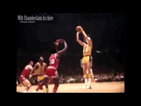Jerry West - Shooting Form (with slow-motion)