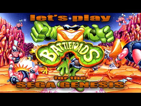 Let's Play Battletoads for the Sega Genesis