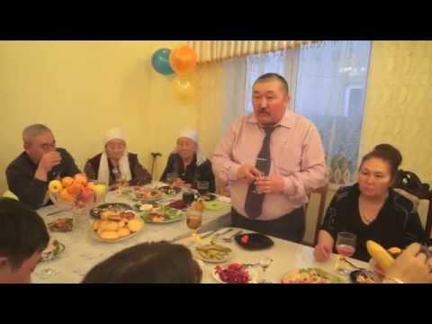 Казахские тосты другу